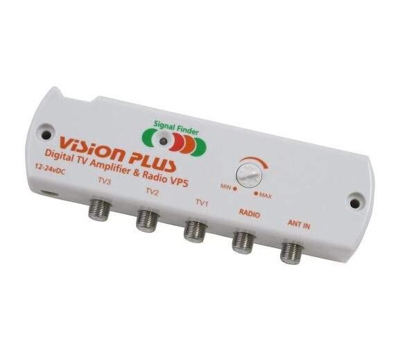 Digital TV Amplifier with Signal Finder VP5